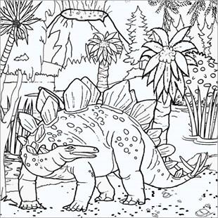 為嬰兒選擇100張最美麗的恐龍著色圖片