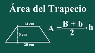 Cómo calcular el área de un trapezoide
