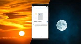 Galaxy A10s - ¿Cómo activar el brillo adaptable?