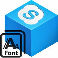Anweisungen zum Ändern von Schriftarten in Skype
