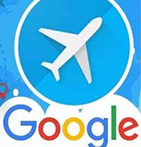 Arahan untuk menempah penerbangan murah dengan Penerbangan Google di telefon bimbit