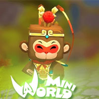 Change skin, change the appearance for characters in Mini World: Block Art