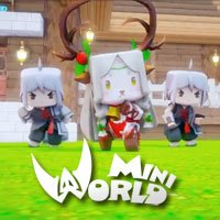 Cara membuat pintu automatik di Mini World: Block Art
