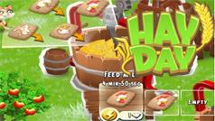 Wie man eine Futtermühle in Hay Day benutzt