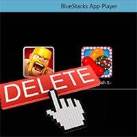 Come disinstallare le applicazioni, disinstallare le app su BlueStacks
