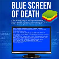 Risolto errore schermata blu su BlueStacks