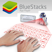 How to activate the virtual keyboard on BlueStacks