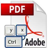 Overzicht van veelgebruikte sneltoetsen in Adobe Reader