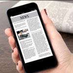 Aplikasi bacaan akhbar terbaik di telefon