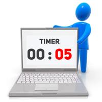 Personaliza el tiempo de brillo de la pantalla