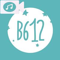 電話でB612を使用してミュージックビデオを記録する手順