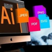 Adobe Illustrator-bestanden opslaan in andere formaten dan AI