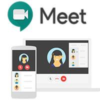 Google Meetオンライン学習の使用手順