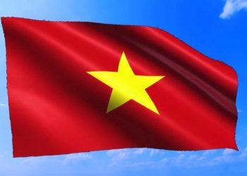 Foto della bellissima bandiera nazionale vietnamita - Il significato della stella rossa con stella gialla