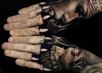 Sammlung von schönen 3D-Tattoo-Mustern, die alle Augen anzieht