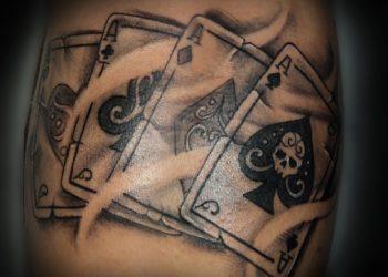 Koleksi reka bentuk tatu terbaik - Apa kata dek kad 52?