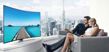 What is a curved TV?