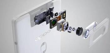 OPPO N3에는 16MP 6 렌즈 카메라, 지문 센서가 장착되어 있습니다.