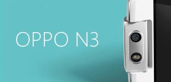 OPPO N3 یک سنسور عکس فوق العاده بزرگ را نشان می دهد