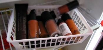 8 jenis kosmetik akan menjadi lebih baik jika disimpan di dalam peti sejuk