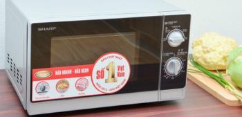 Mikrowelle Sharp R-205VN (S) - Günstig, aber immer noch Qualität