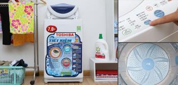 Mesin cuci Toshiba AW-A800SV - Solusi penghematan total