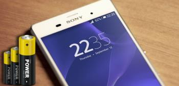 Срок службы батареи Sony Xpreia Z3 - по-прежнему сохраняется, несмотря на большой экран