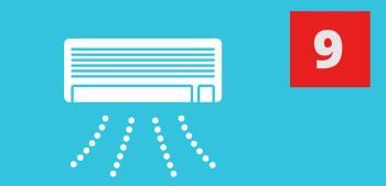 Top 5 der meistverkauften Klimaanlagen im September