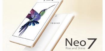 Oppo официально запускает Oppo Neo 7