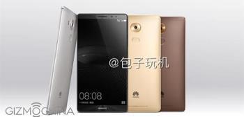 Huawei Mate 8 hat vor dem Startdatum Fotos durchgesickert