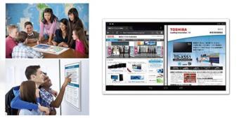 Presentato il tablet da 24 pollici di Toshiba