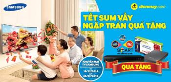 3 promosi TV Samsung terbaik selama Tet