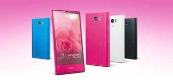 Sharp bringt die ersten beiden Telefone des Jahres auf den Markt