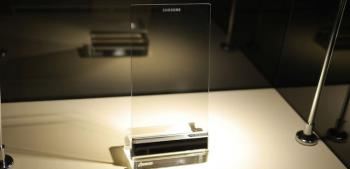 Samsung mengembangkan telefon telus - tetapi anda belum dapat memilikinya