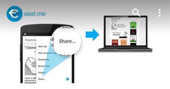 Cara berbagi tautan dengan cepat dari ponsel Android ke komputer