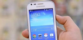 Ini adalah Samsung Galaxy Trend Plus dengan kemas kini perisian