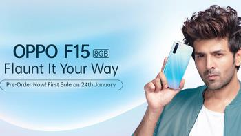 OppoF15の発売-48MPカメラ付きの安価なスマートフォン