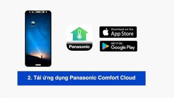 Istruzioni per il collegamento dei condizionatori daria Panasonic con lapplicazione Panasonic Comfort Cloud tramite smartphone