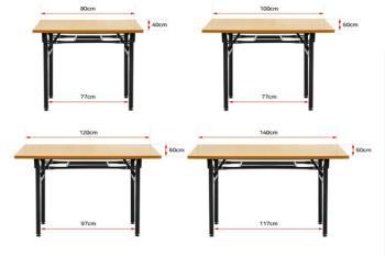 Meja lipat pintar untuk ruangan kecil