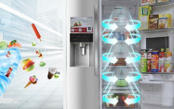 Erfahren Sie mehr über die mehrdimensionale Kühltechnologie von LG-Kühlschränken