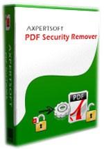 Pdf Security Remover AxpertSoft