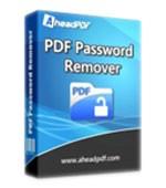 Ahead PDF Password Remover