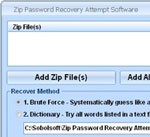 Zip Password Recovery Attempt Software