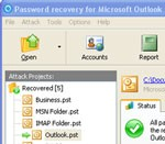 Intelore Outlook Password Recovery