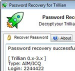 Reactive Trillian Password Recovery