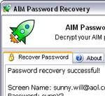 Reactive AIM Password Recovery