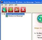 Quick Recovery Windows Live Messenger Password
