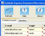 Outlook Express Password Recovery Intelore