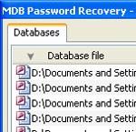 MDB Password Recovery