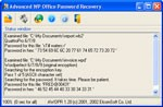 Advanced WordPerfect Office Password Recovery